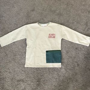 "Zara Baby ""ALWAYS EXPLORE"" Long Sleeve Shirt"